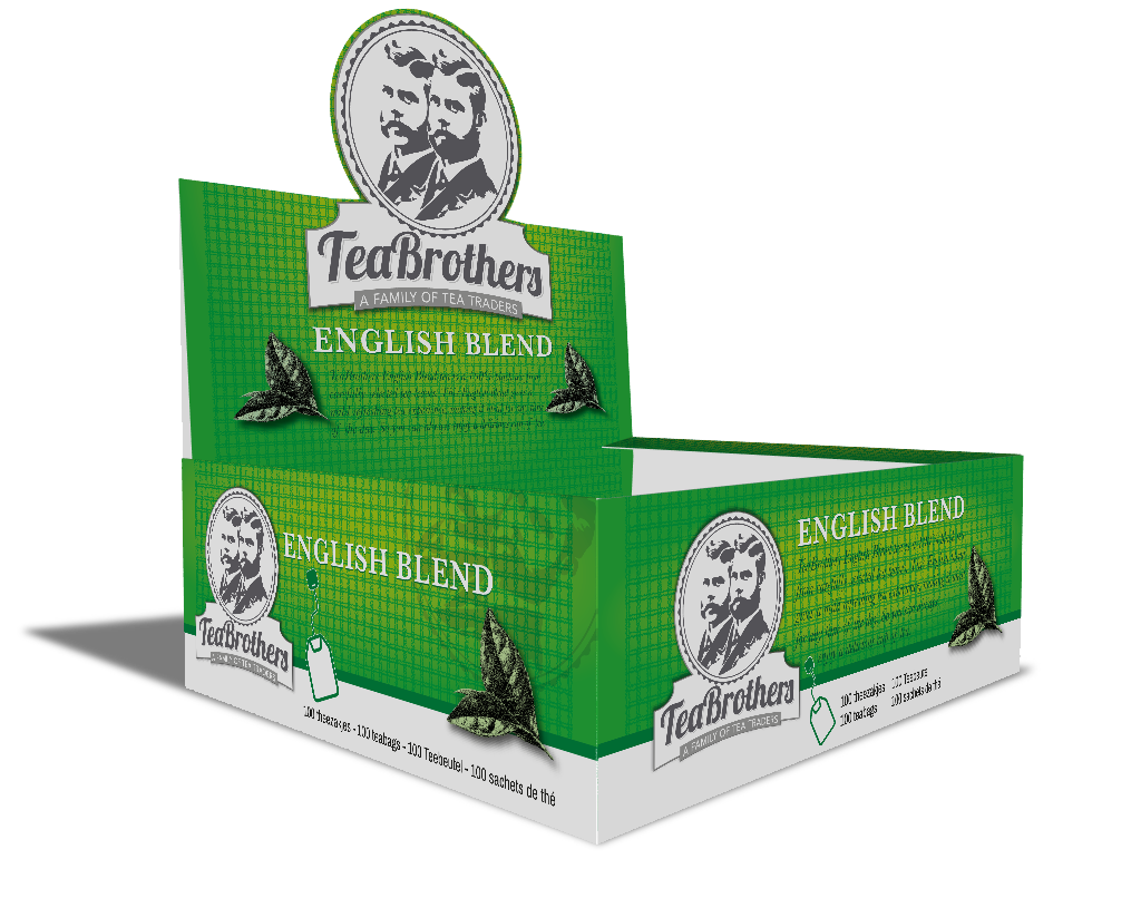 TeaBrothers English blend zonder envelop