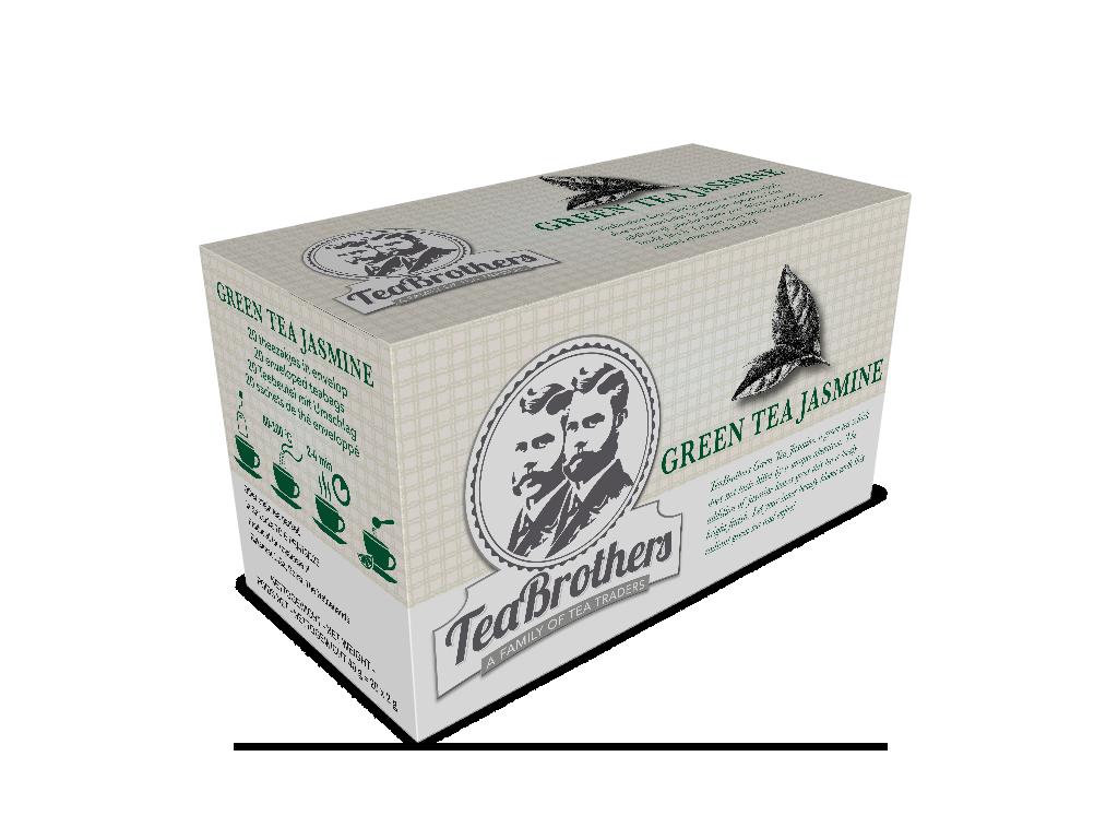 TeaBrothers Green tea jasmin