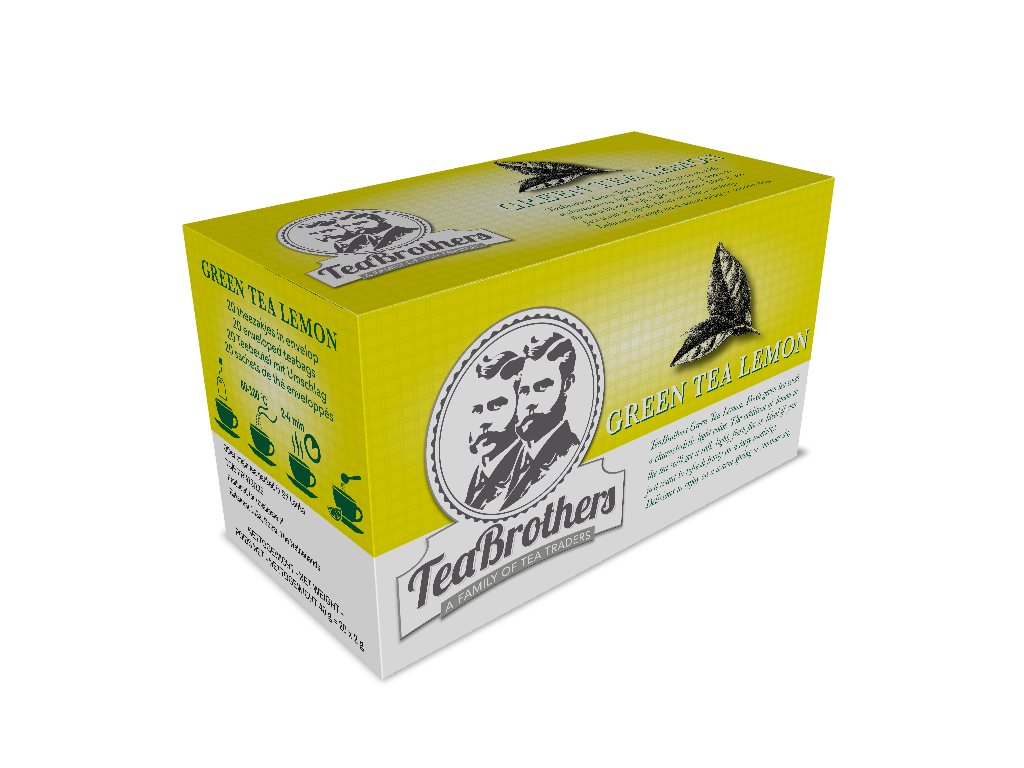 TeaBrothers Green tea lemon